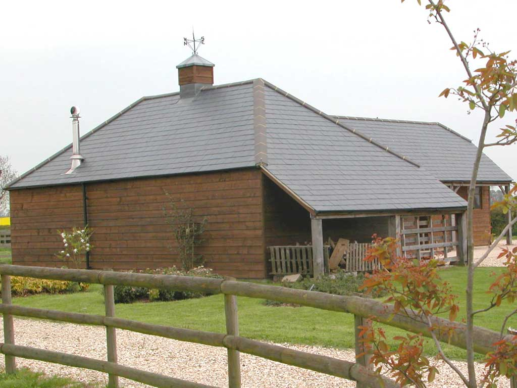 Side elevation The Stable Block
